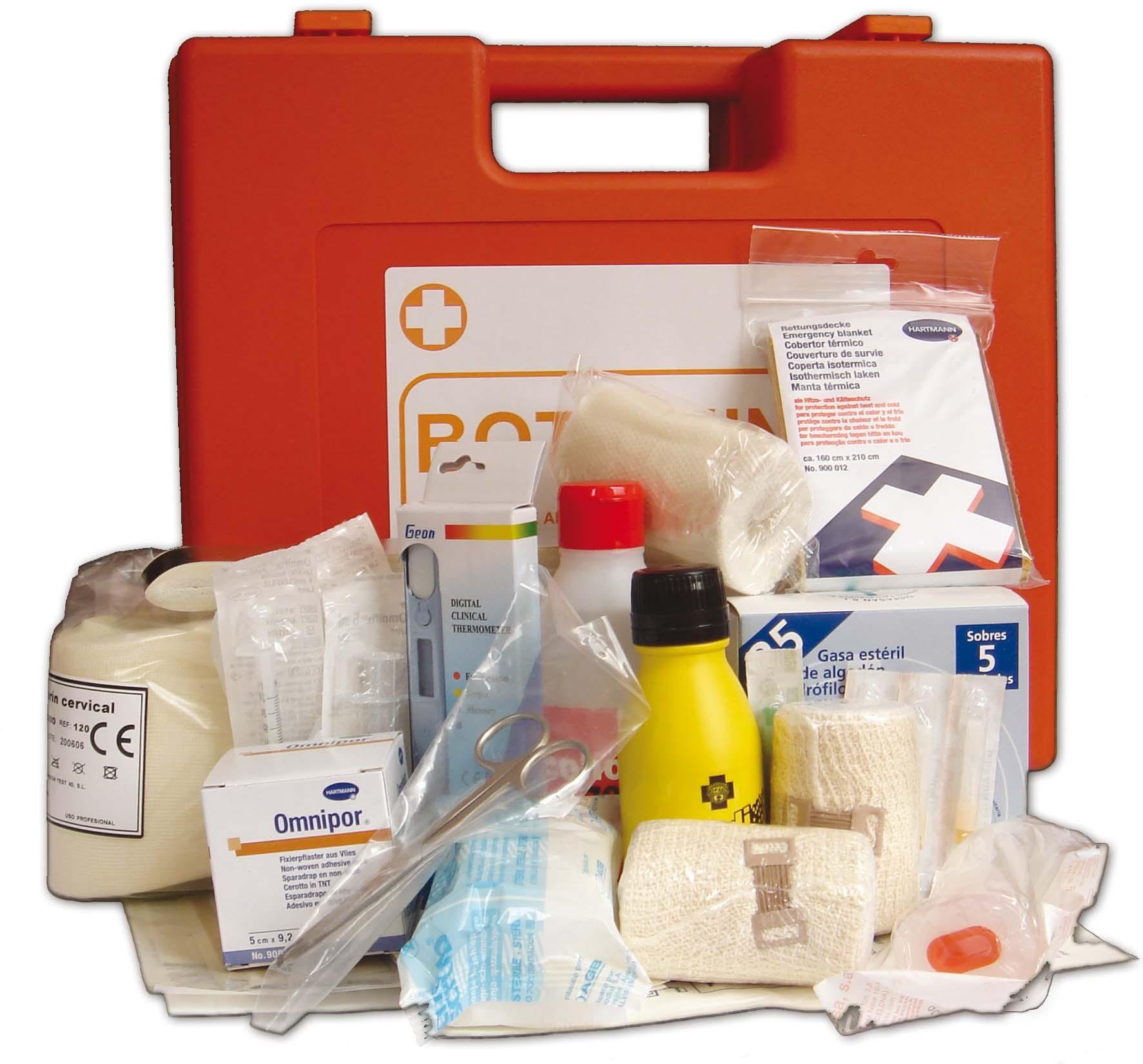 Anexo de medicamentos incluidos en los botiquines a bordo