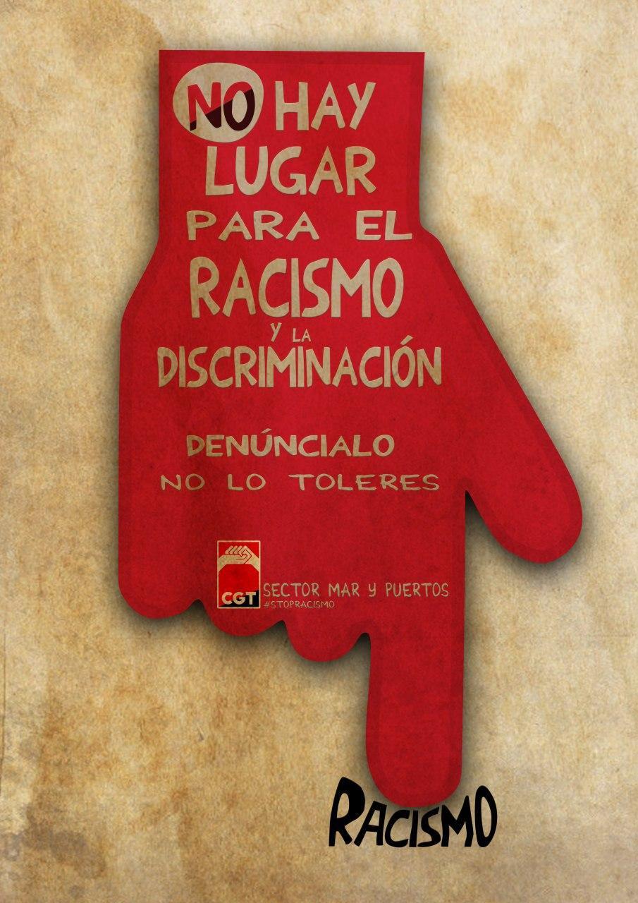 Contra el Racismo y la discriminación